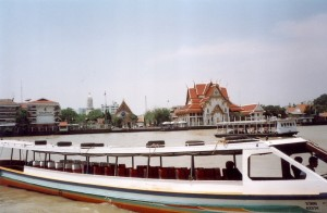 Ferry to Wat Po